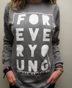 Life Out of the Box Forever Young Sweatshirt, Grey